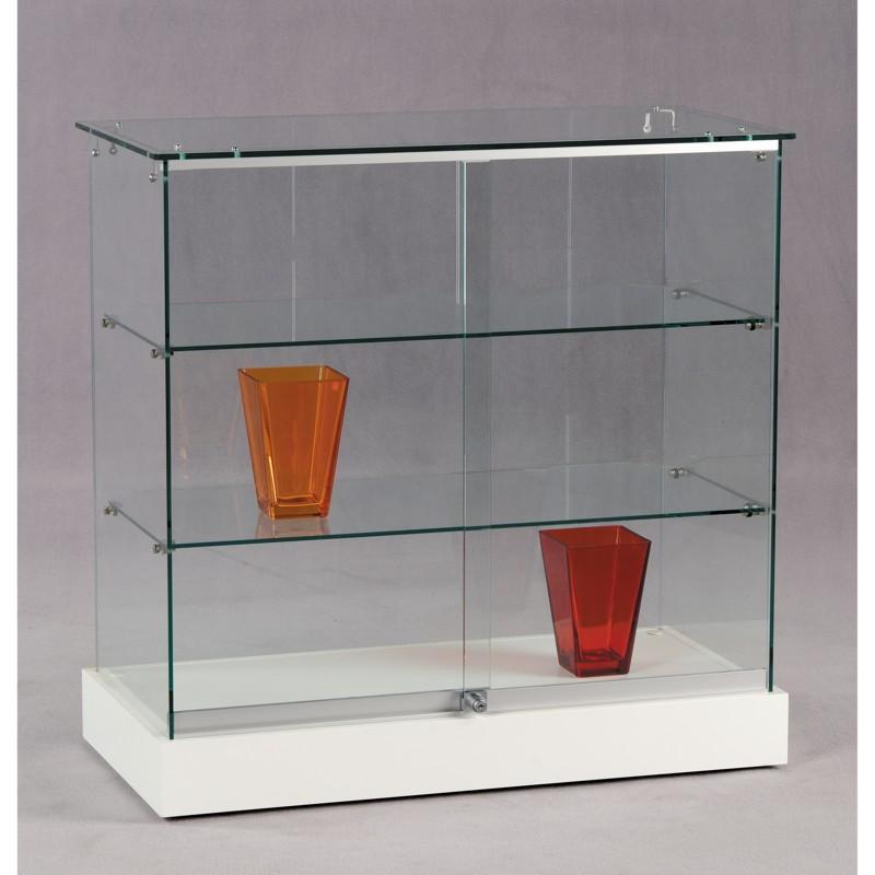 tisch vitrine glas