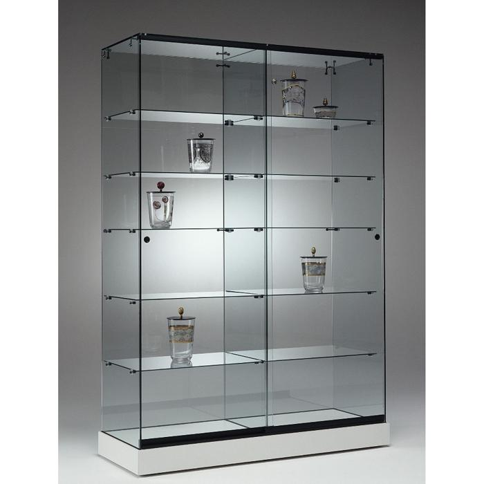 ganzglasvitrine glas 53 ganzglasvitrinen ganzglas vitrine. Black Bedroom Furniture Sets. Home Design Ideas