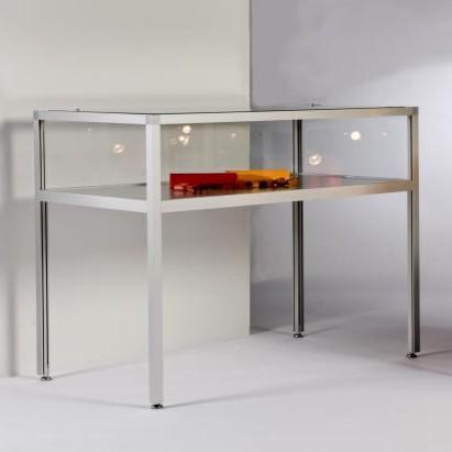 tischvitrine komfort 33 staubdicht tischvitrinen thekenvitrine thekenvitrinen. Black Bedroom Furniture Sets. Home Design Ideas