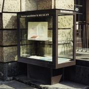 Boulevardvitrine MAXIMA-4 Vitrine außen