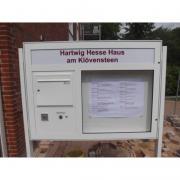Schaukasten VARIO-85 Briefkasten Anlage