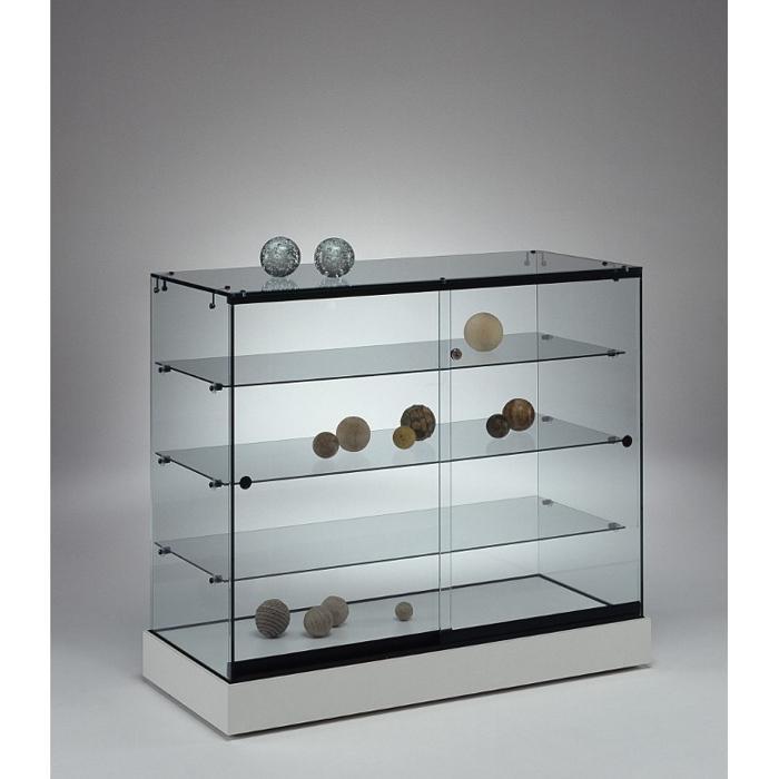 Tischvitrinen glas