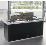 Haubenvitrine PUR-54 Museumsvitrine