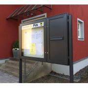 Schaukasten VARIO-112 Briefkasten Postkasten