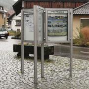 Schaukasten-Anlage VARIO-114 Sternanlage